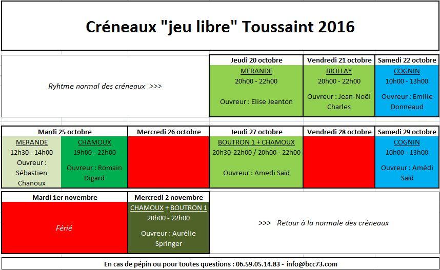 CreneauBCC73 Toussaint2016